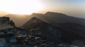 Amanece-desde-el-Veleta-en Sierra Nevada