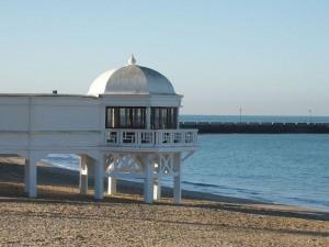 playa de la caleta Cádiz, costa de la luz